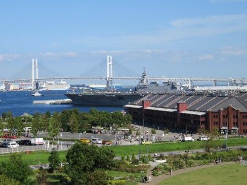 FLEETWEEK2019横浜 - 護衛艦「いずも」一般公開_a0057402_19140645.jpg