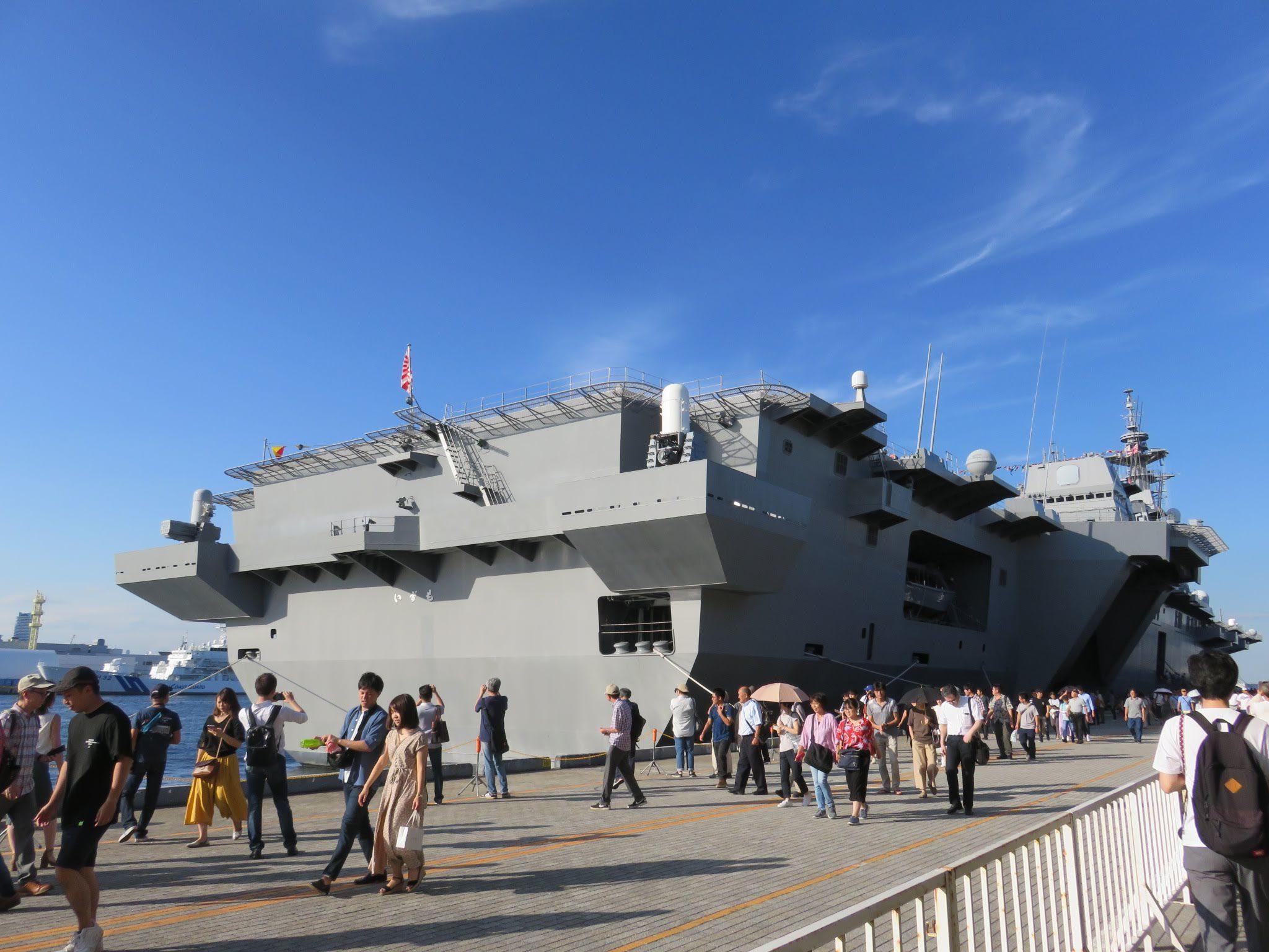 FLEETWEEK2019横浜 - 護衛艦「いずも」一般公開_a0057402_21261321.jpg