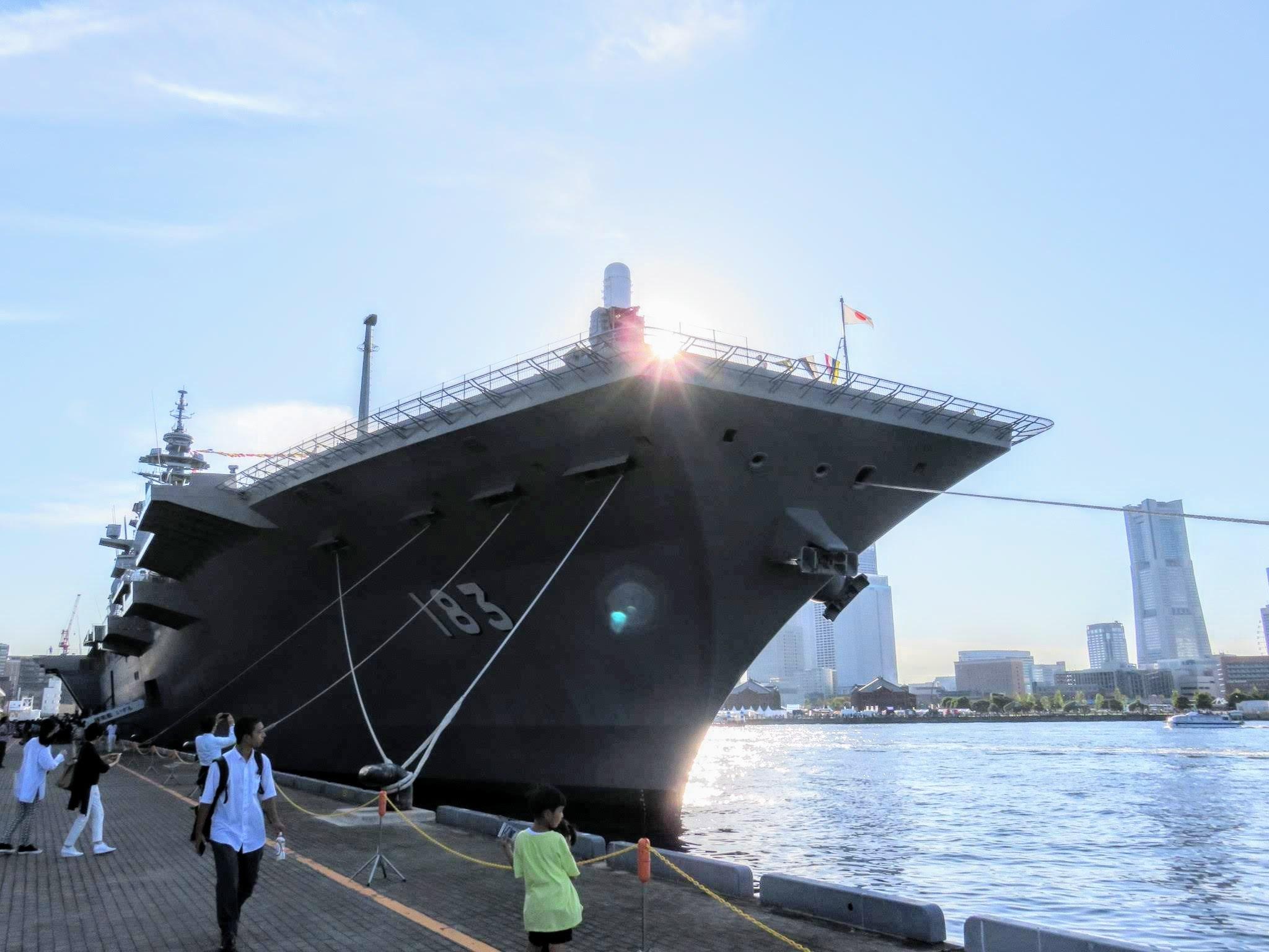 FLEETWEEK2019横浜 - 護衛艦「いずも」一般公開_a0057402_21291012.jpg