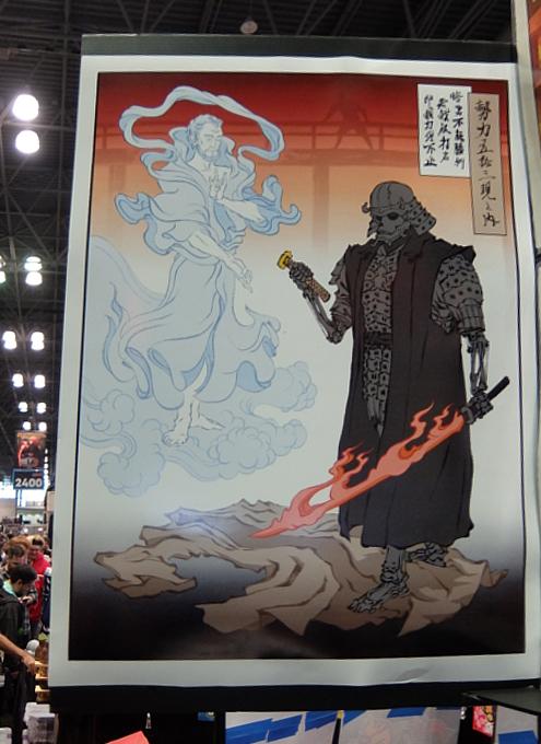 浮世絵風になった日本の漫画やアニメのキャラクター、Ukiyo-e Heroes_b0007805_05472532.jpg