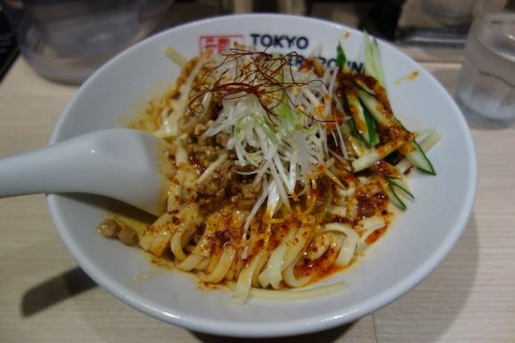 TOKYO UNDERGROUND RAMEN 頑者の担々和え麺_e0230011_16200297.jpg