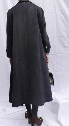 Celine wool coat Navy_f0144612_08464140.jpg