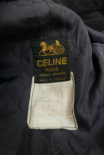 Celine wool coat Navy_f0144612_08464144.jpg