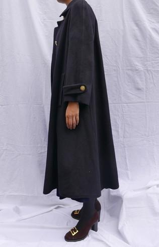 Celine wool coat Navy_f0144612_08464194.jpg