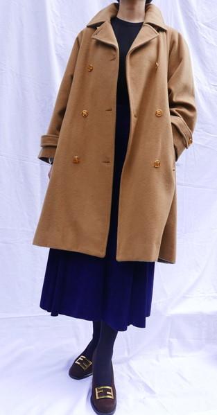 Celine wool coat Beige_f0144612_08531935.jpg