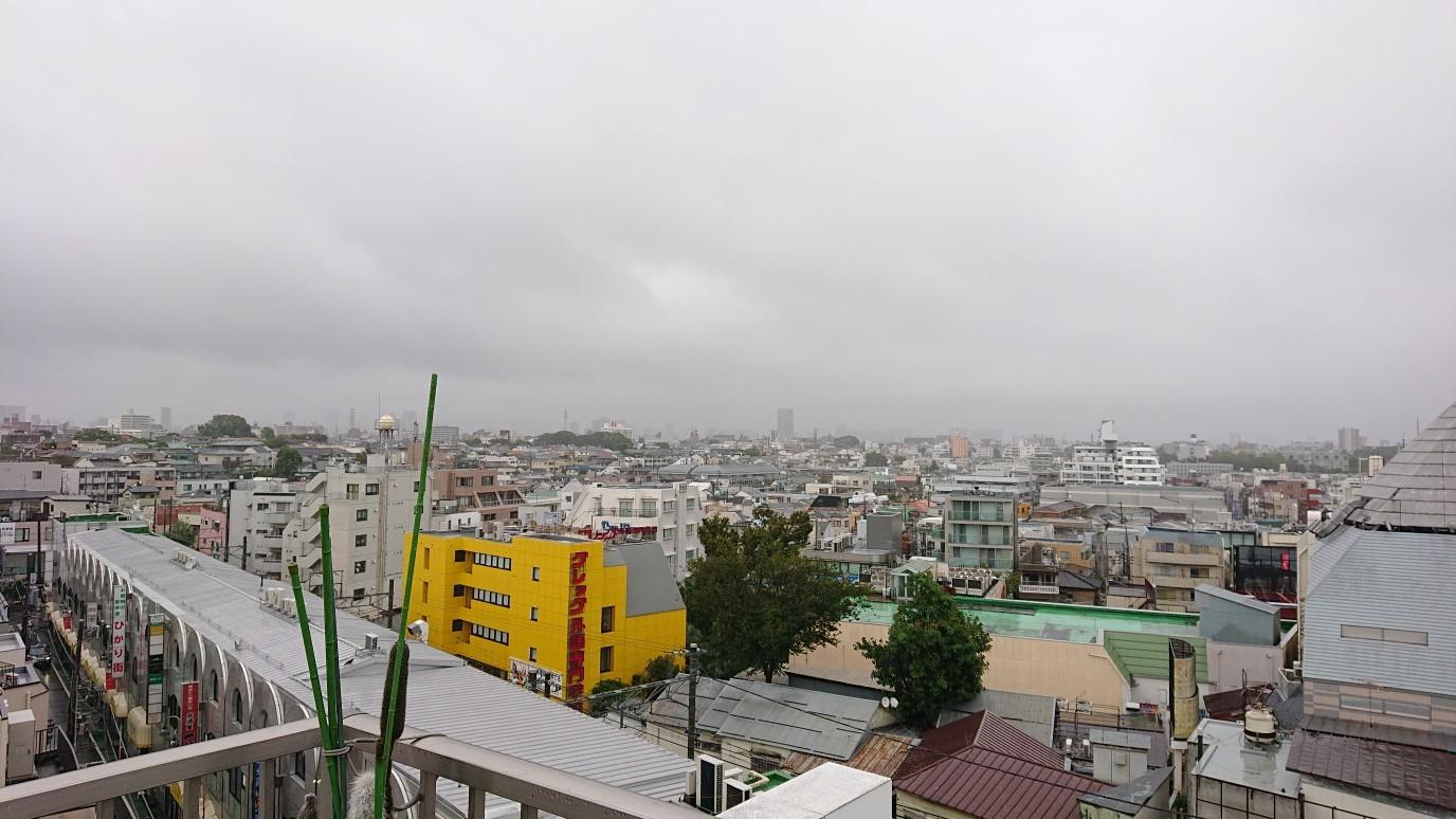 巨大台風です。なぜか自由が丘にいます_d0155439_11084579.jpg