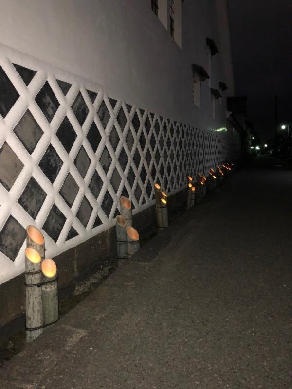 萩・竹灯路物語 開催_f0101949_10320831.jpeg