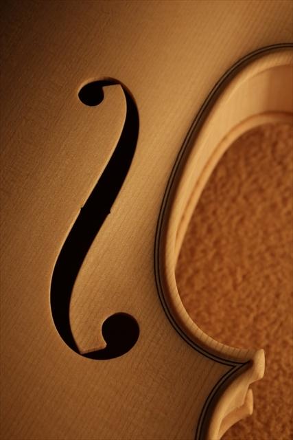 弦楽器フェアのご紹介と、ホワイトヴァイオリン_d0047461_14290140.jpg