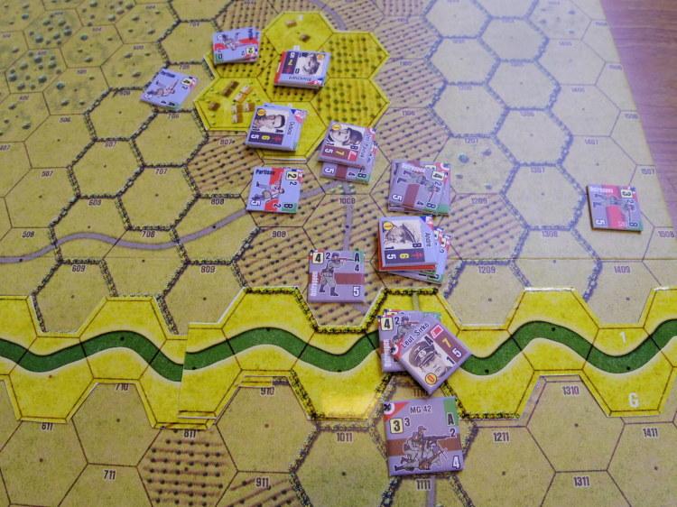 2019.07.13~14(土日)海の日連休連続例会の様子その7...(Draco Ideas)Normandy:The Beginning of the End、毎日別の卓とメンツで_b0173672_17462705.jpg