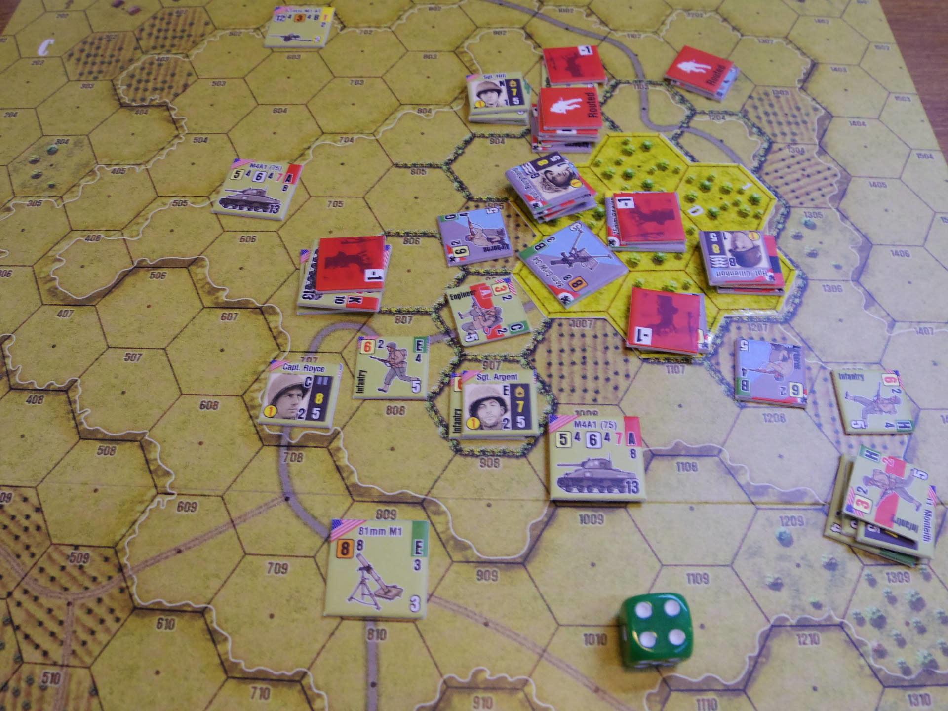 2019.07.13~14(土日)海の日連休連続例会の様子その7...(Draco Ideas)Normandy:The Beginning of the End、毎日別の卓とメンツで_b0173672_17534030.jpg