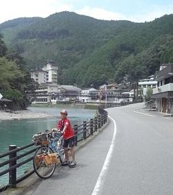 子どもの夏休みの川遊びタンデム行_f0016281_09381022.jpg