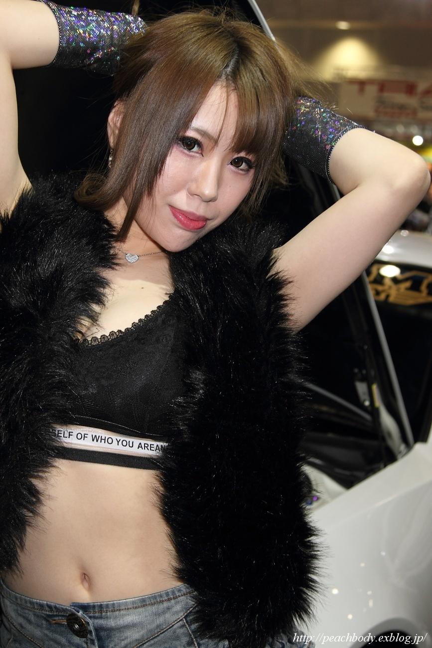 早乙女麗那 さん(CLUB RH9ピットロードMマシンファクトリー ブース)_c0215885_01031970.jpg