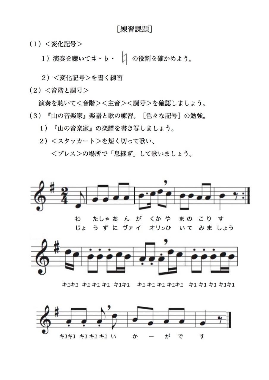 <お母さんと幼児の為の楽典>-29 「楽譜を書こう-3」_d0016397_17491100.jpg