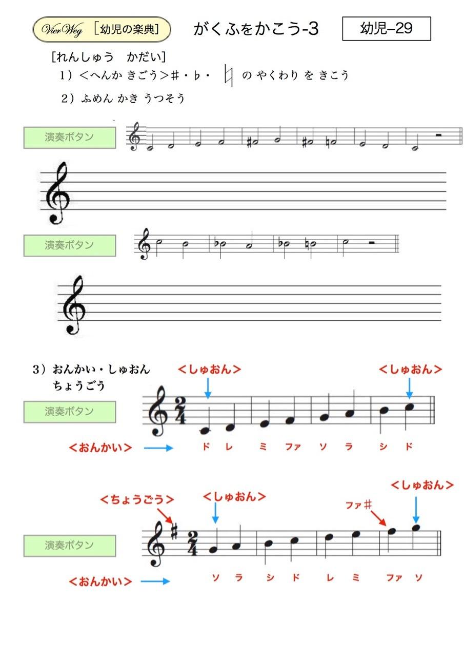 <お母さんと幼児の為の楽典>-29 「楽譜を書こう-3」_d0016397_17492919.jpg