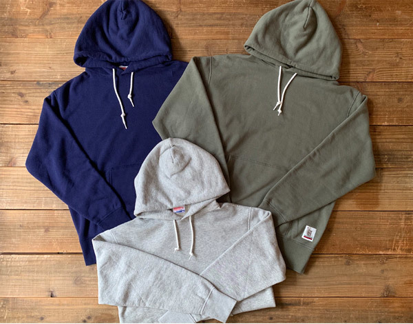 【DELIVERY】 STANDARD CALIFORNIA - Pullover Hood Sweat_a0076701_14003042.jpg