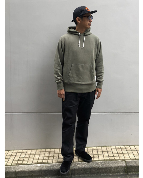 【DELIVERY】 STANDARD CALIFORNIA - Pullover Hood Sweat_a0076701_14011103.jpg