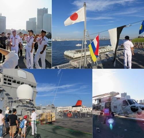 FLEETWEEK2019横浜 - 護衛艦「いずも」一般公開_a0057402_08342428.jpg