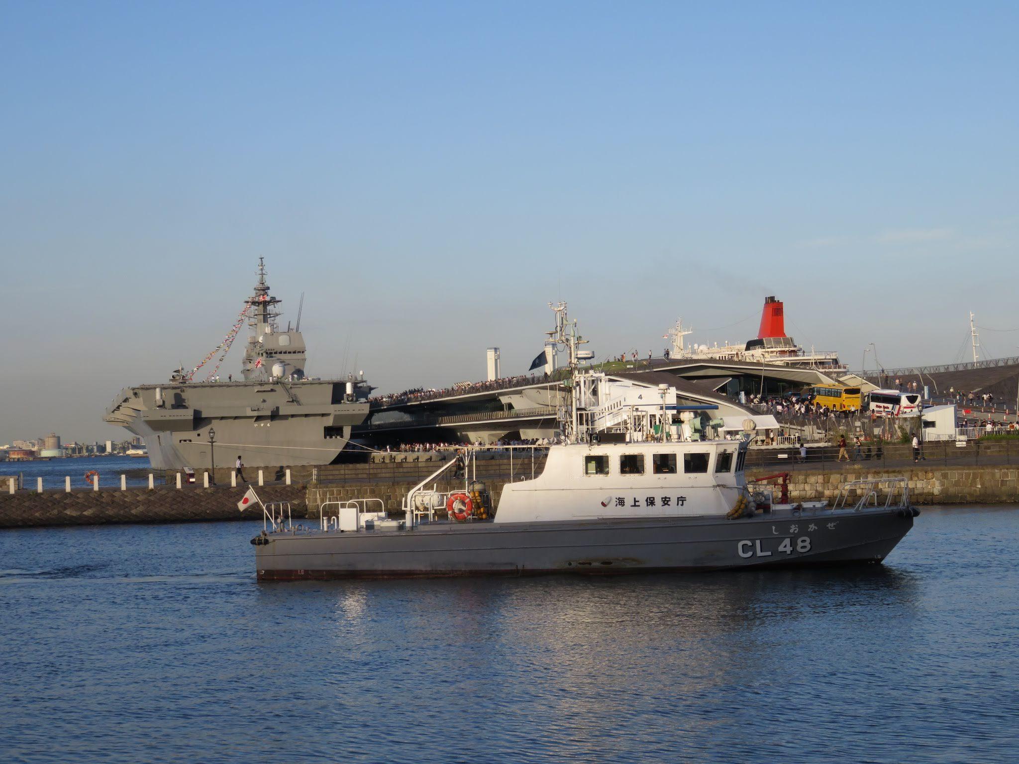 FLEETWEEK2019横浜 - 護衛艦「いずも」一般公開_a0057402_11385809.jpg