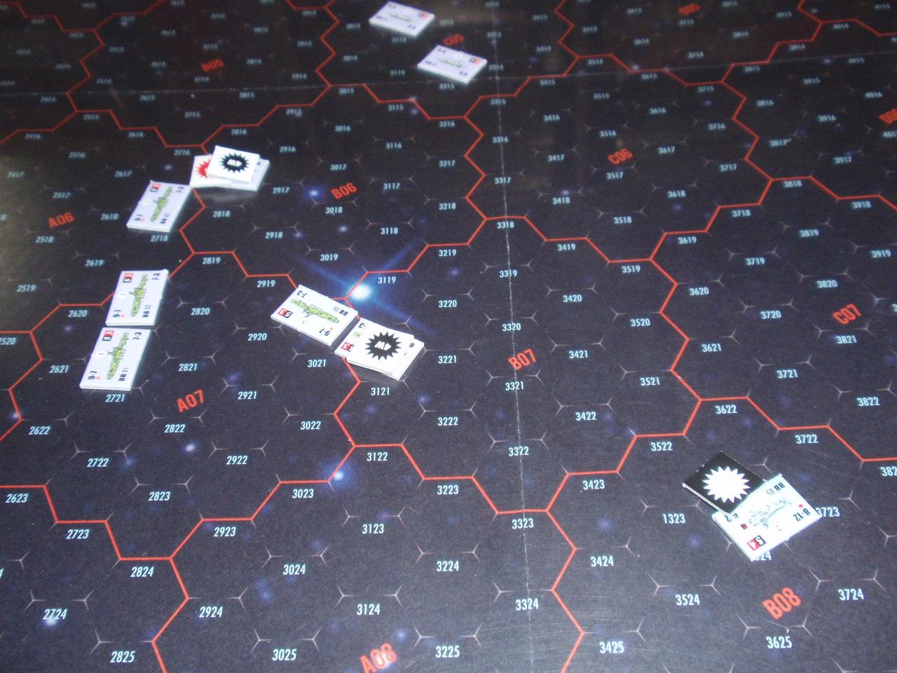 Bonsai Games「アイアン・デブリ・システム」よりシナリオ「全滅!ヒペリオン艦隊」をソロプレイ③_b0162202_1830273.jpg