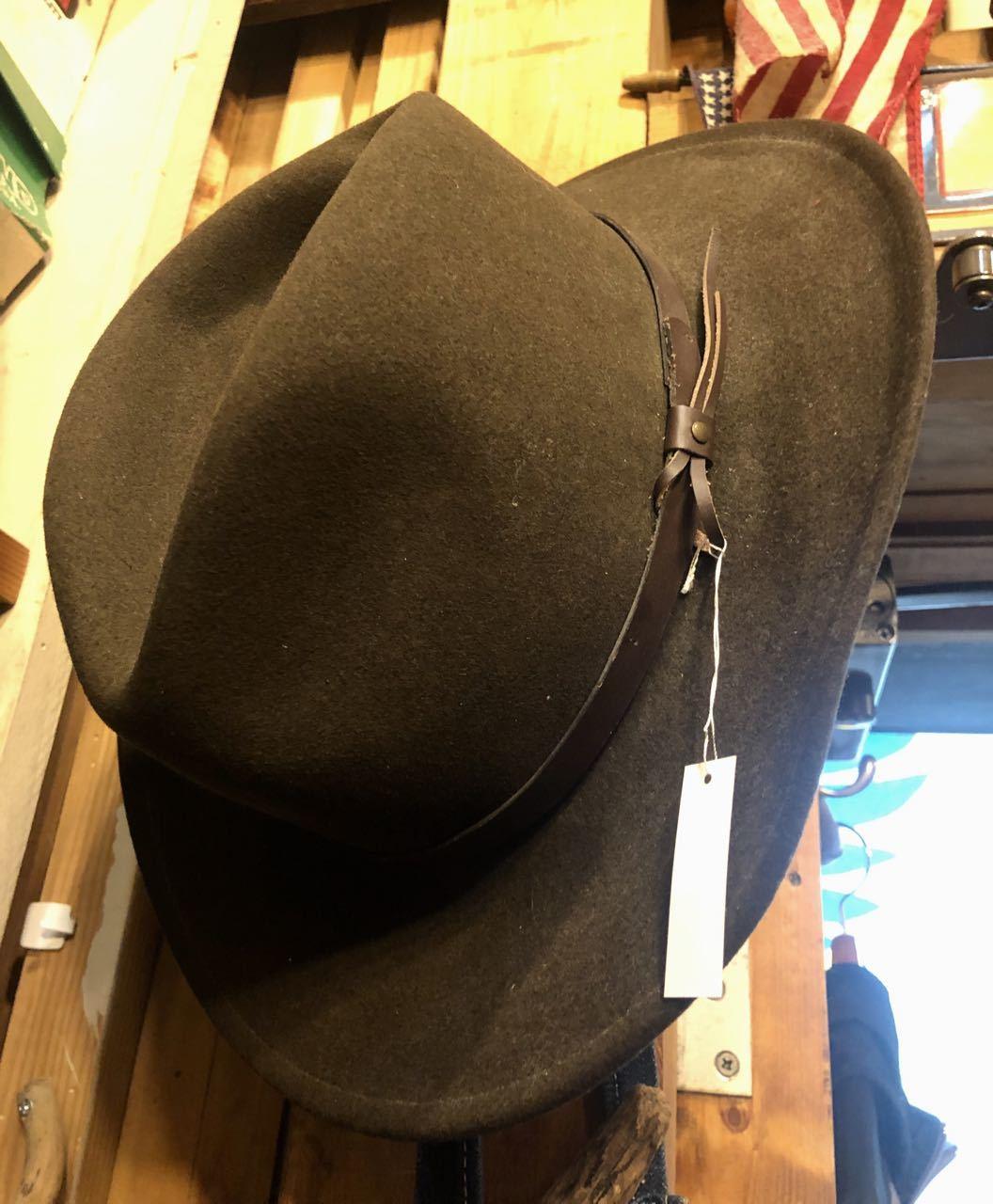 unknown 80s〜MADE IN U.S.A wool felt hat !_c0144020_18424067.jpg