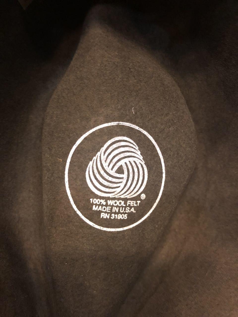 unknown 80s〜MADE IN U.S.A wool felt hat !_c0144020_18424452.jpg