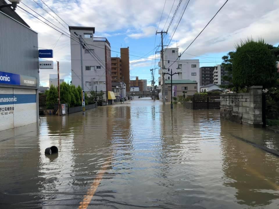 『台風19号 郡山市内 水害 朝6時』 _f0259324_22042875.jpg