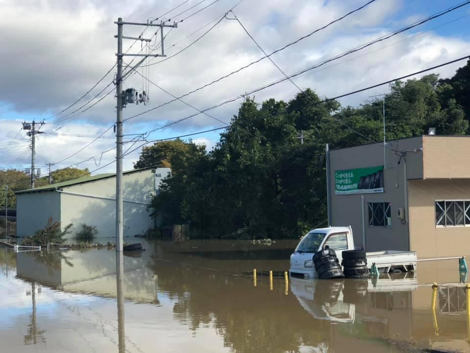 『台風19号 郡山市内 水害 10時』_f0259324_22170358.jpg