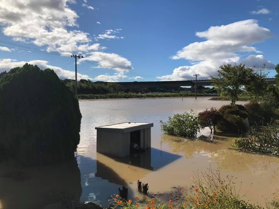 『台風19号 郡山市内 水害 10時』_f0259324_22170396.jpg
