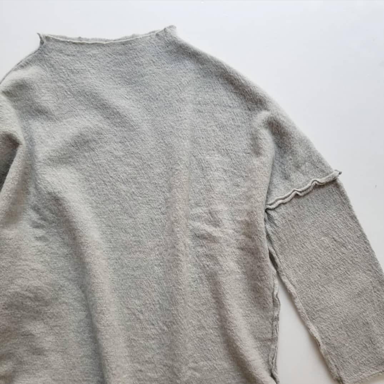 Kotonの縮絨ウールオフネックプルオーバー_f0120026_16242193.jpg