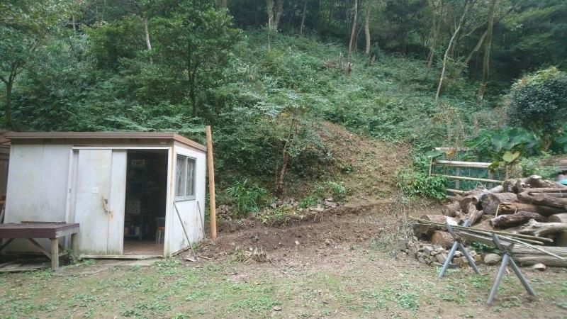 山里の恵みと薪小屋建設計画_c0239329_00341430.jpg