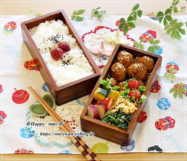 肉団子の甘酢あん弁当と今週の作りおき♪_f0348032_16395374.jpg