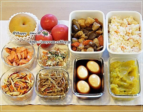 肉団子の甘酢あん弁当と今週の作りおき♪_f0348032_16404387.jpg