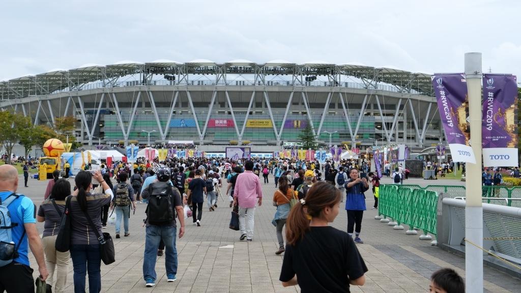 ラグビーワールドカップ オーストラリアVSジョージア  静岡エコパ その3_f0050534_15350088.jpg