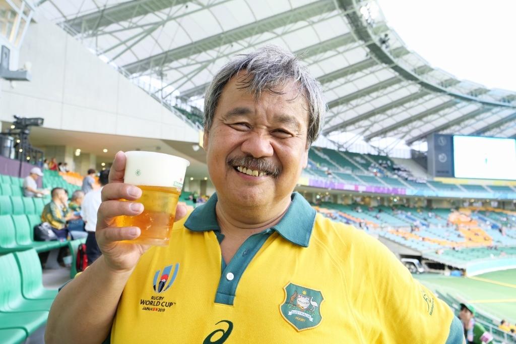 ラグビーワールドカップ オーストラリアVSジョージア  静岡エコパ その3_f0050534_15371283.jpg