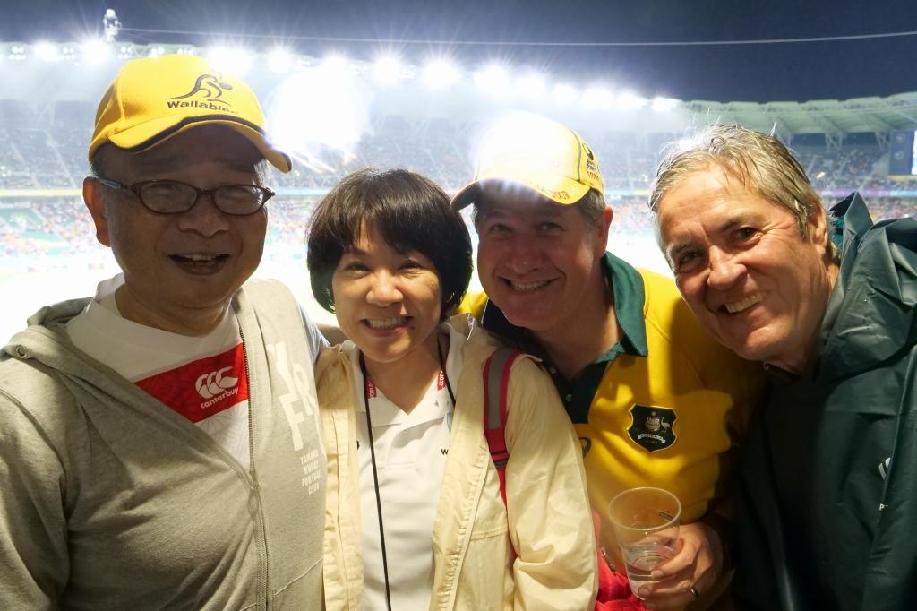 ラグビーワールドカップ オーストラリアVSジョージア  静岡エコパ その3_f0050534_15461849.jpg