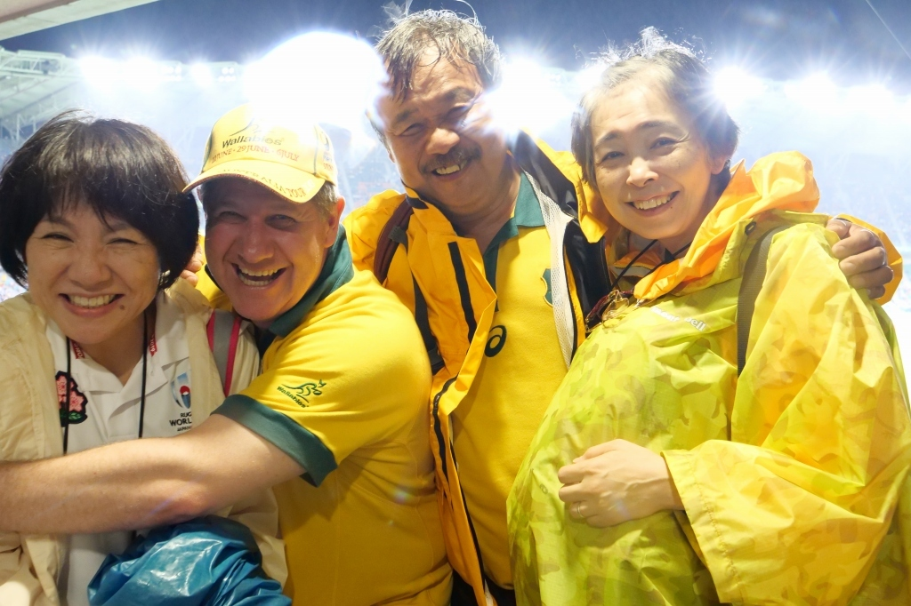 ラグビーワールドカップ オーストラリアVSジョージア  静岡エコパ その3_f0050534_15461988.jpg