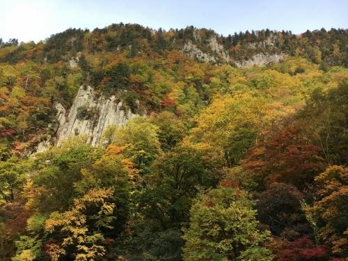 天人峡滝見台の紅葉と美瑛秋庭_e0326953_14354629.jpg