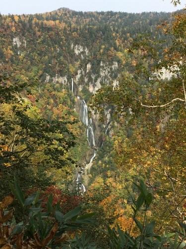 天人峡滝見台の紅葉と美瑛秋庭_e0326953_14594239.jpg