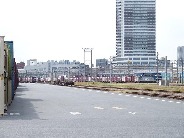隅田川駅 貨物フェスティバル ブルーサンダー!(2019/9/29)_b0006870_16493847.jpg