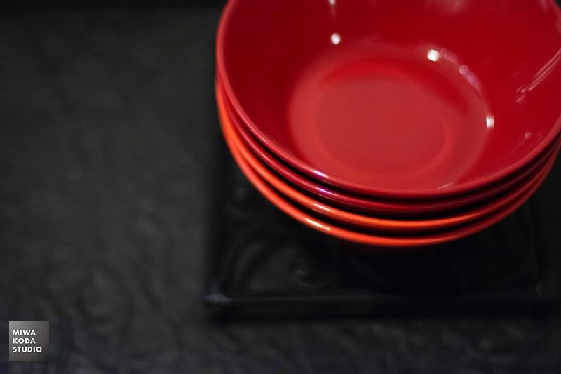 October 13, 2019 赤いボウル Red bowl_a0307186_06463605.jpg