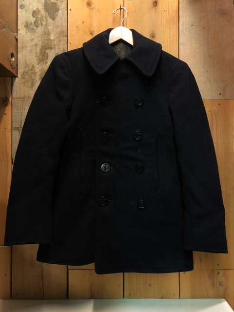 30\'s~40\'s U.S.Navy 10-Button P-Coat!!(マグネッツ大阪アメ村店)_c0078587_19265177.jpg