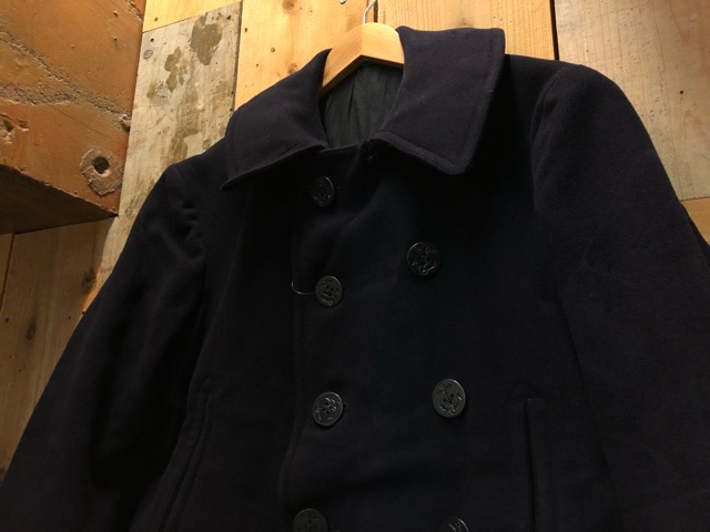 30\'s~40\'s U.S.Navy 10-Button P-Coat!!(マグネッツ大阪アメ村店)_c0078587_19292589.jpg