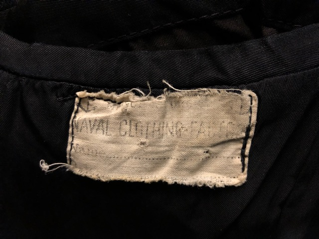 30\'s~40\'s U.S.Navy 10-Button P-Coat!!(マグネッツ大阪アメ村店)_c0078587_1929520.jpg