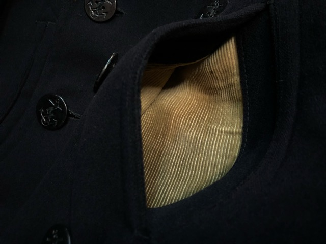 30\'s~40\'s U.S.Navy 10-Button P-Coat!!(マグネッツ大阪アメ村店)_c0078587_1931913.jpg