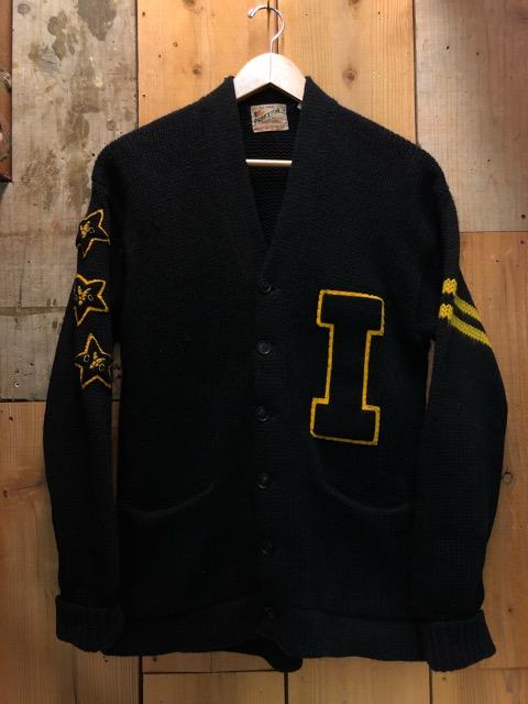 10月16日(水)大阪店ヴィンテージ入荷!!#2 Award Knit編!! LetteredCardigan & AthleticSweater!!_c0078587_20361196.jpg