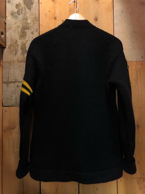 10月16日(水)大阪店ヴィンテージ入荷!!#2 Award Knit編!! LetteredCardigan & AthleticSweater!!_c0078587_2036185.jpg