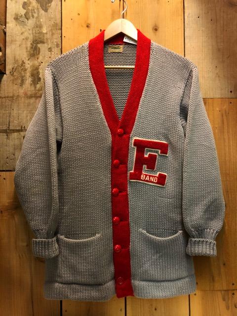 10月16日(水)大阪店ヴィンテージ入荷!!#2 Award Knit編!! LetteredCardigan & AthleticSweater!!_c0078587_20372450.jpg