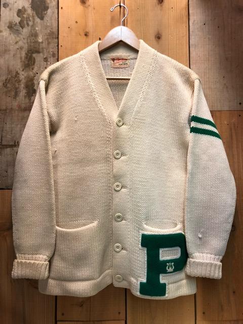 10月16日(水)大阪店ヴィンテージ入荷!!#2 Award Knit編!! LetteredCardigan & AthleticSweater!!_c0078587_20383524.jpg