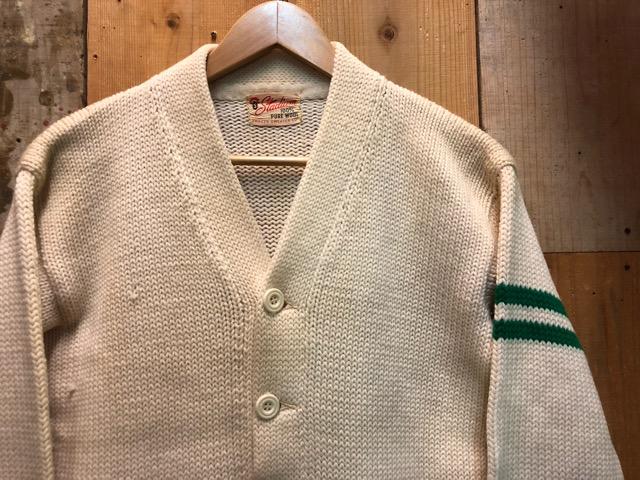 10月16日(水)大阪店ヴィンテージ入荷!!#2 Award Knit編!! LetteredCardigan & AthleticSweater!!_c0078587_20385723.jpg