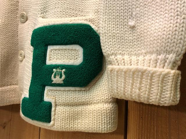 10月16日(水)大阪店ヴィンテージ入荷!!#2 Award Knit編!! LetteredCardigan & AthleticSweater!!_c0078587_20392231.jpg